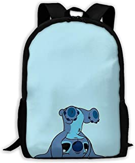 Custom Stitch Casual Backpack School Bag Travel Daypack Gift