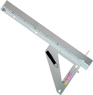 シンワ測定(Shinwa Sokutei) 丸ノコガイド定規 エルアングル 取手付き 補助板付き 1000mm 77901