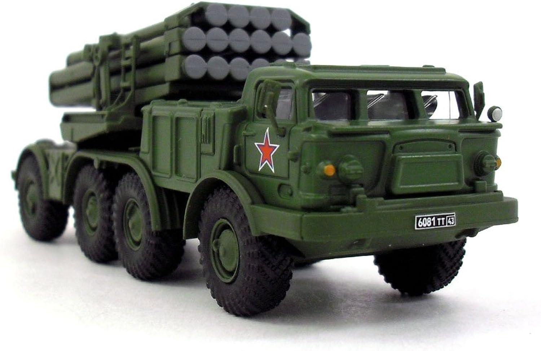 Soviet BM27 UraganHurricane Multiple Rocket Launcher 1 72 Scale Diecast Model