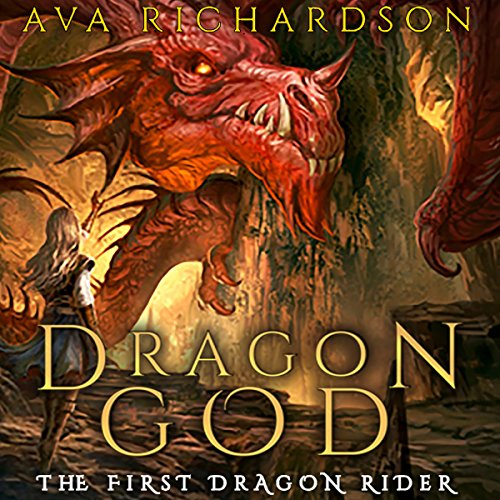 Dragon God audiobook cover art