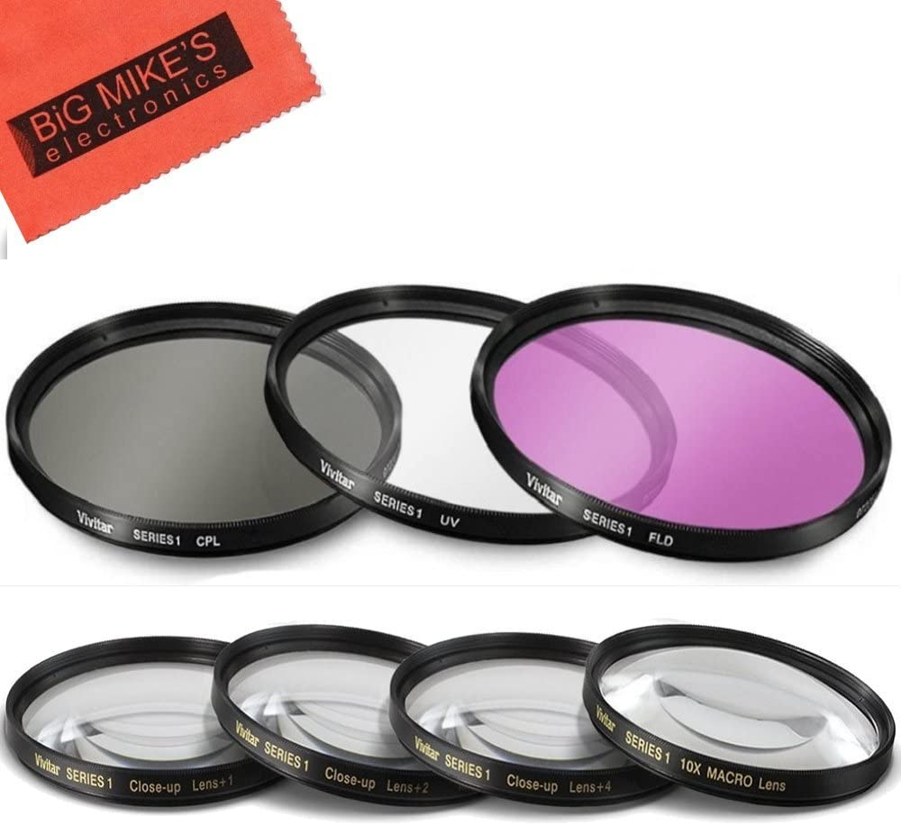 7 Piece 40.5mm Max 83% OFF Filter Set Kit PC Weekly update 3 UV-CPL-FLD Includes