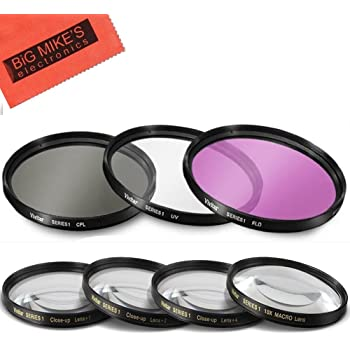 for Sony Handycam HDR-UX10 C-PL Multithreaded Glass Filter Multicoated 30mm Circular Polarizer