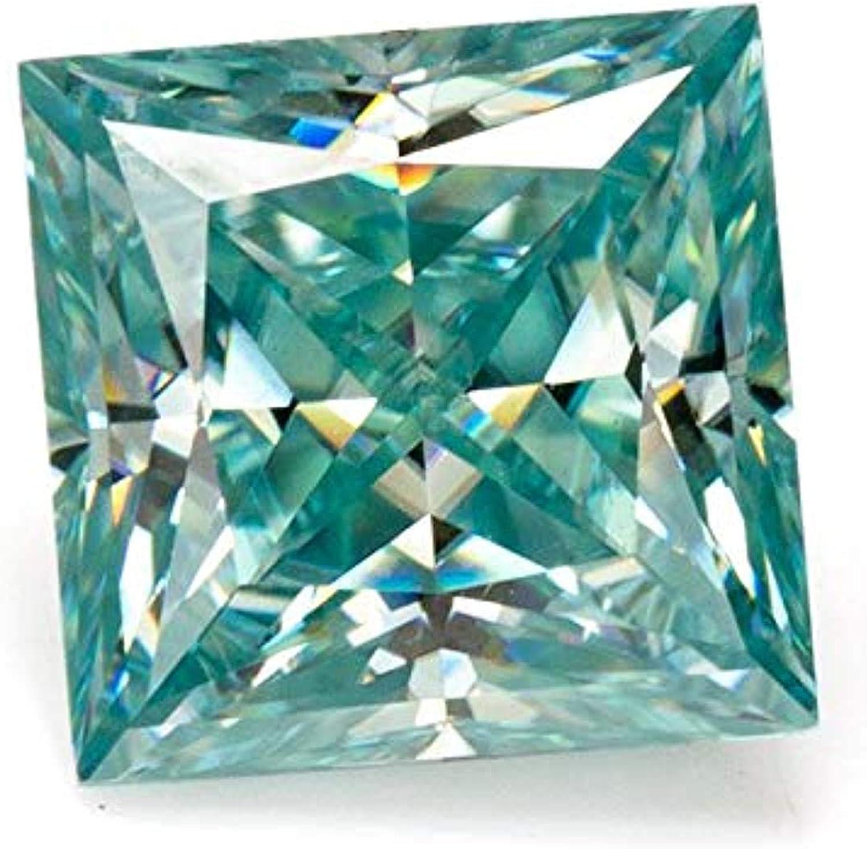 Max 70% OFF Gemonite 1.50CT Princess Cut Loose Moissanite Blue G Arlington Mall VVS1