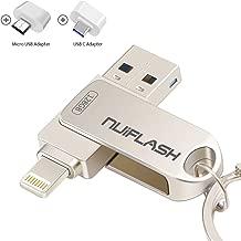128GB Flash Drive for iPhone Photo Stick Memory Stick USB...