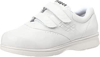 Propet Women's W3915 Vista Walker Sneaker,White Smooth,11 XX (US Women's 11 EEEE)