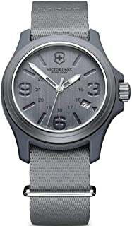 VictoriNox Casual Watch for Men , Fabric Band , 241515