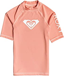 Roxy Girls' Whole Hearted S/sl Surf Tee