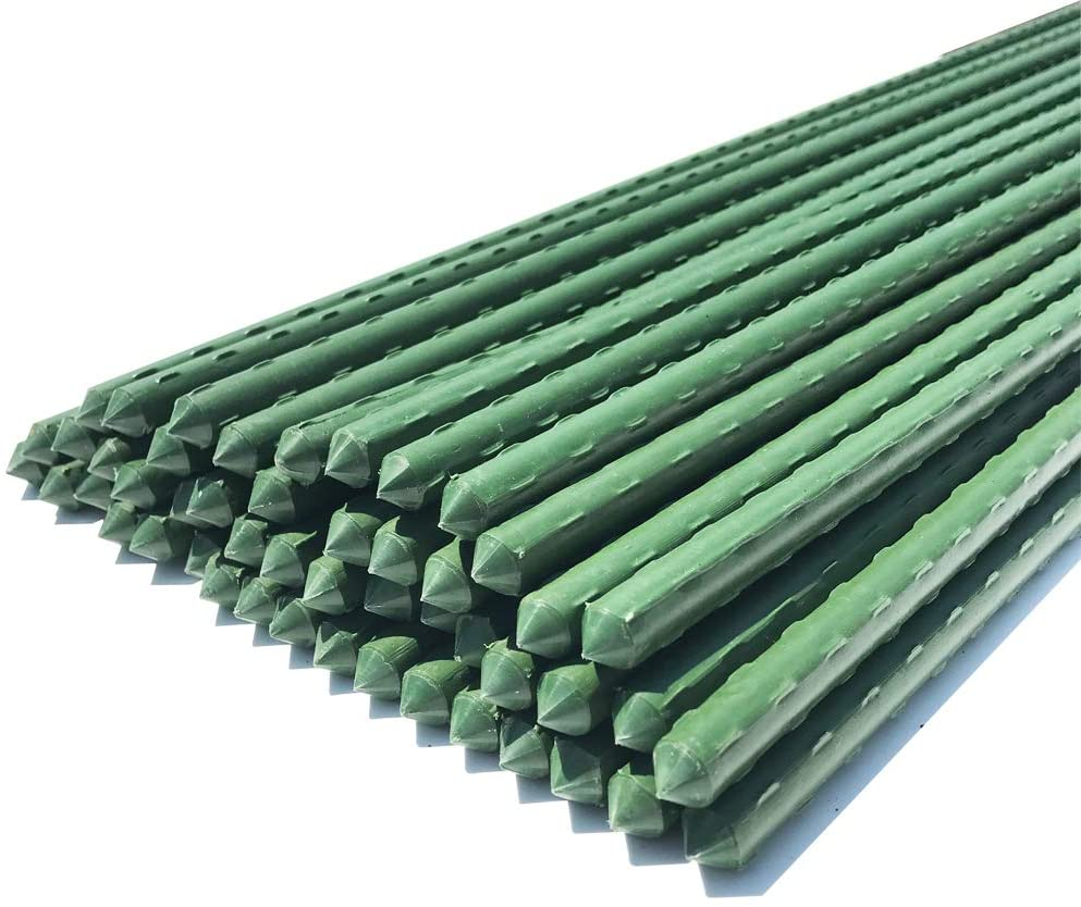 WAENLIR Garden Stakes 72 inch 6ft Plant Sale Sticks Support T Al sold out. Sturdy