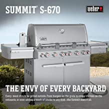 weber summit e 670 natural gas grill
