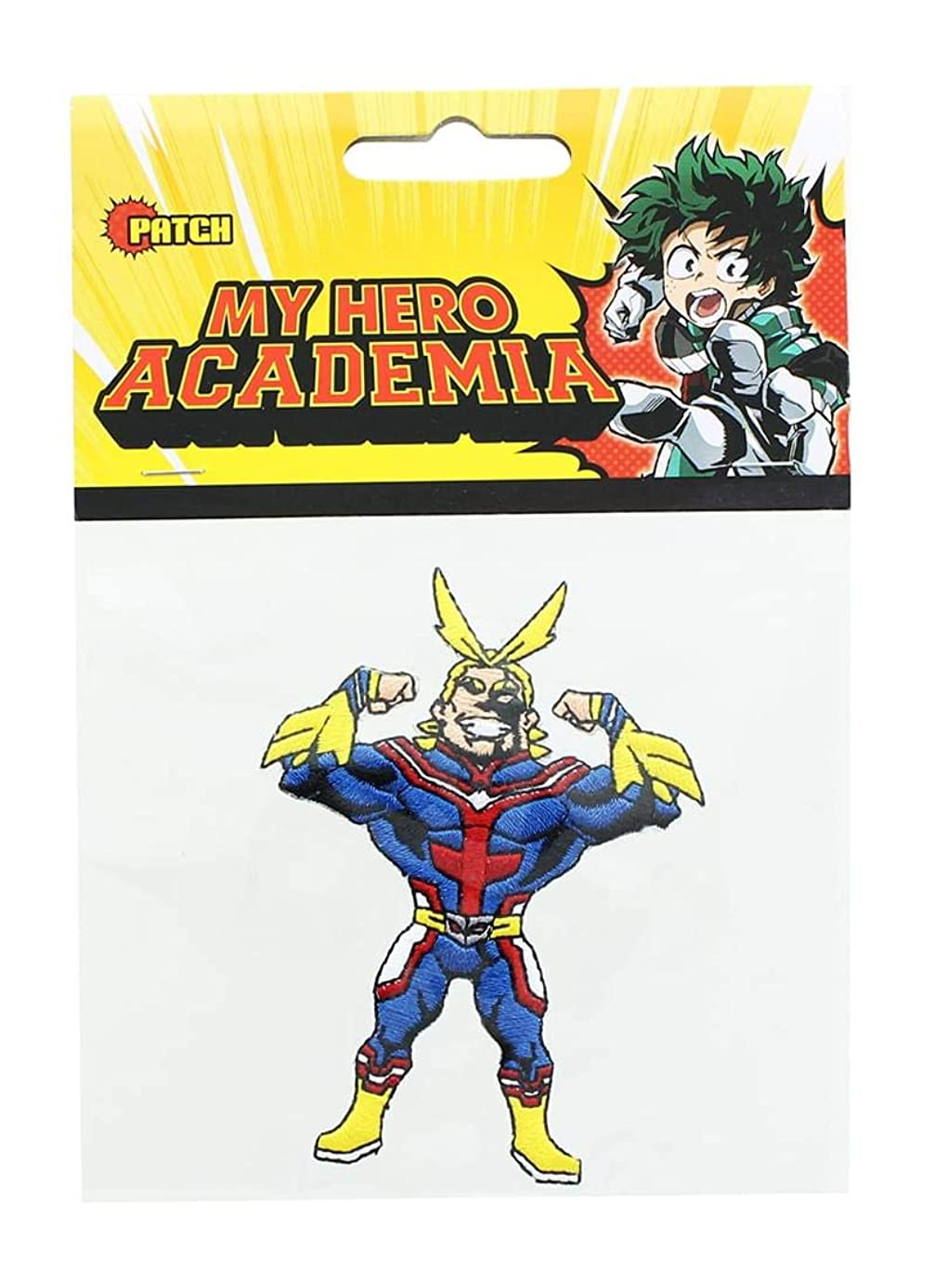 Great Eastern Entertainment My Hero Academia All Might Embroidered Fabric Patch zkl6746508