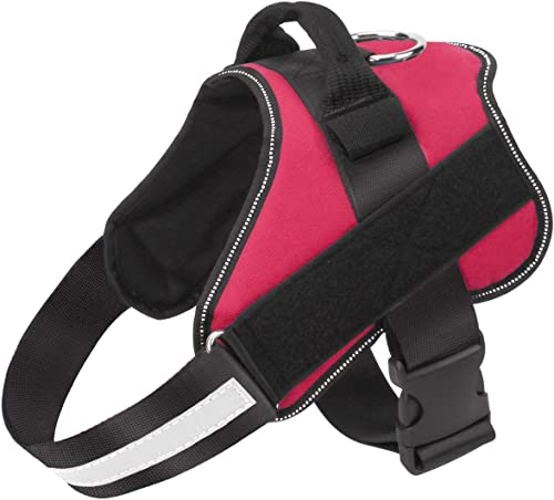 PetVogue Dog Harness, No-Pull Reflective Breathable Adjustable Pet Vest with Handle for Outdoor Walking - No More Pul...