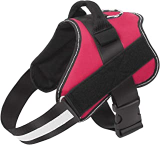 PetVogue Dog Harness, No-Pull Reflective Breathable Adjustable Pet Vest with Handle for Outdoor Walking - No More Pulling,...