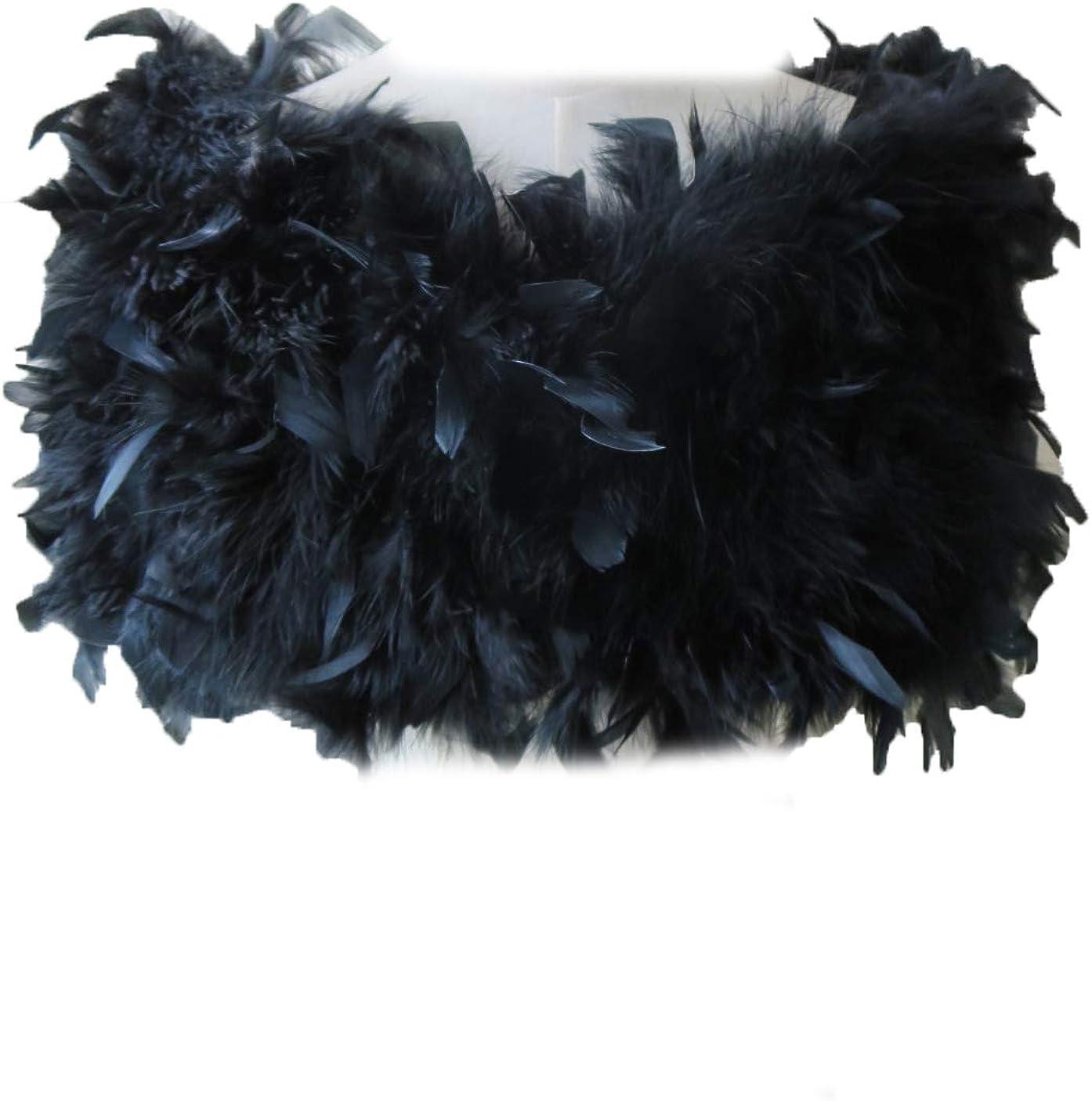 Women 完売 Real Ostrich 安心と信頼 Feather Cape Shawl Bridal Wedding For Winter
