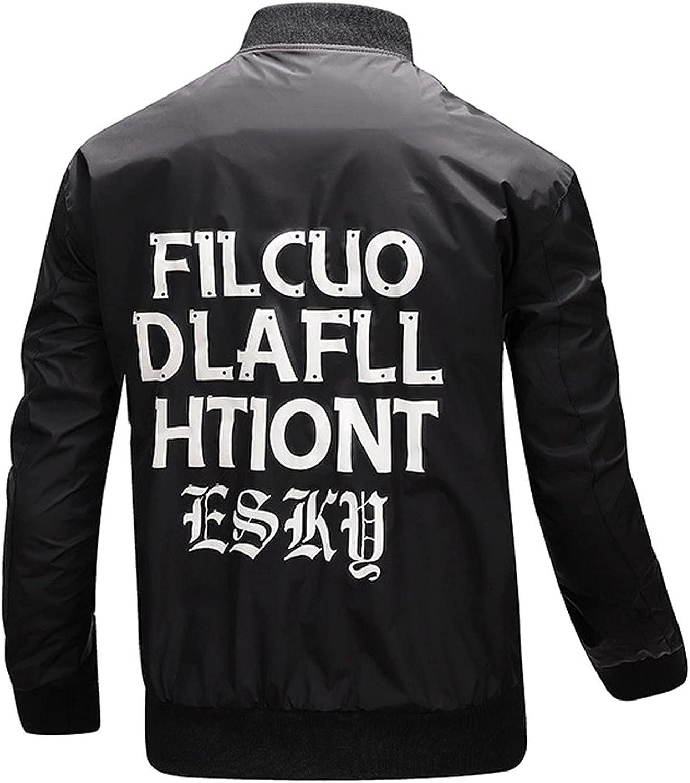 Huangse 2021 Fashion Waterproof Bomber Jacket Full Zip Windbreaker Windproof Baseball Jacket Soft Shell Varsity Jacket