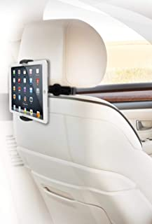 ZAZZ Car Headrest Mount Compatible with iPad/Kindle and Tablets