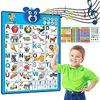 RenFox Electronic ABC Alphabet Wall Chart