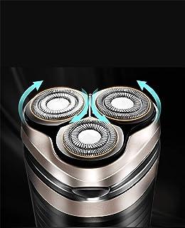 MJY Sièges pour racleurs portables à trois têtes rechargeables Usb Home Smart Shaver,UNE