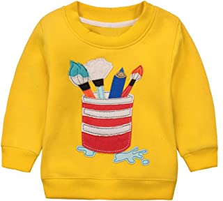 LOSORN ZPY Baby Toddler Girl Boy Christmas Sweater Cute Cotton Pullover Sweatshirt