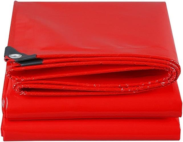 Baches Bache rouge Heavy Duty Tarp imperméable feuille de sol couverture Camping Car démarrage Garden housse de pluie bache, Multi-taille Options Couverture de piscine (taille   3MX6M)