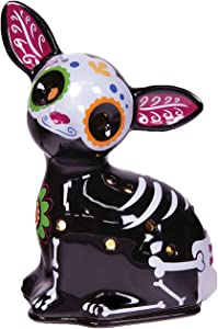Scentsationals Day of The Dead Collection - Scented Wax Cube Warmer - Wax Fragrance Melter - Skull Wickless Electronic Home Air Freshener Gift (Paco)