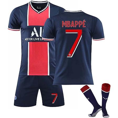 GJMQQ Maglia da Uomo, 2021 Second Away Jersey, Mbappé 7# / Neymar ...