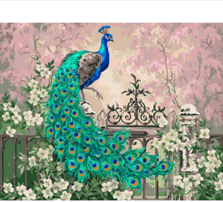Waofe Waofe Waofe  Gerahmte Bilder Malen Nach Zahlen Tierhandarbeit Leinwand Ölgemälde Wohnkultur Für Wohnzimmer Gx3458 B07PNVH5BD | Adoptieren  c51fe3