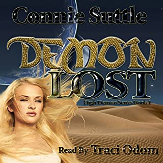 Demon Lost audiobook cover art