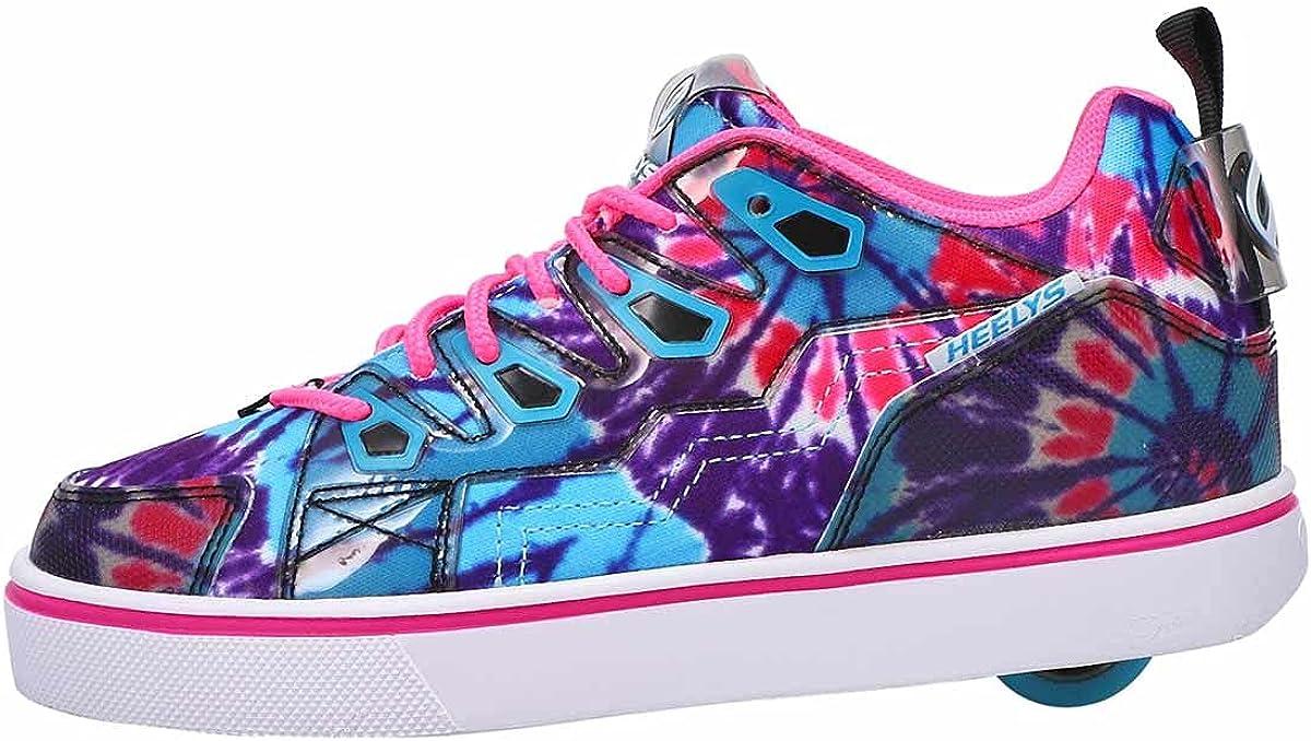HEELYS Youth Kids Tracer Wheels Skate Sneaker Shoes