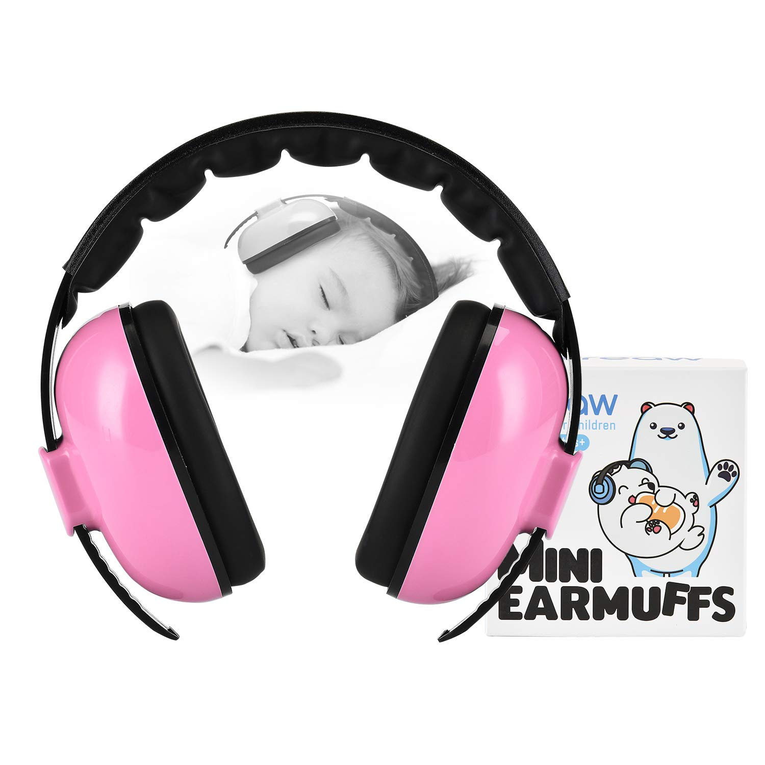 Noise Cancelling Headphones for Kids, Baby Ear Muffs Noise Protection Infant