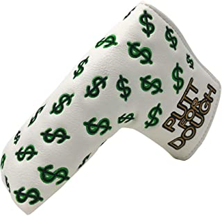 And Etcetera Putt for Dough Drive for Show Blade Putter Cover Headcover Synthetic Leather Magnetic Closure for Scotty Came...