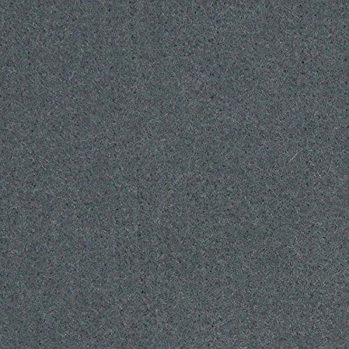 Fabulous Fabrics Filz grau, Uni, 45cm breit, 5 mm Stärke – Filz zum Nähen von Taschen – Meterware erhältlich ab 0,5 m
