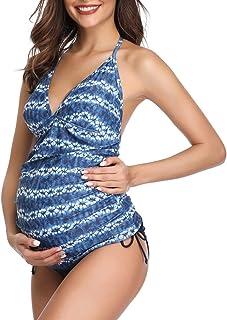 comprar comparacion Traje de baño de Maternidad Verano Mae triángulo Halter Bikini