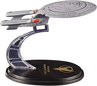 Quantum Mechanix Star Trek The Next Generation: USS Enterprise NCC-1701D QMx Mini Master Ship Replica Toy, Multicolor