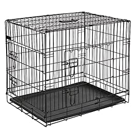Kerbl Straight Front Dog Cage Collapsible 2 Doors