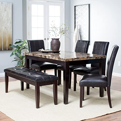 Dining Sets with Bench: Amazon.com