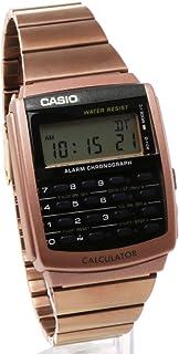 2年保証 CASIO カシオ CA-506C-5A CALCULATOR カリキュレーター ステンレス ブレスレット メタル ローズゴールド ピンクゴールド デジタル [並行輸入品]