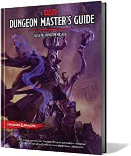 Dungeons & Dragons- D&D Dungeon Master's Guide (Guía del DM) - Español, Color (Edge Entertainment EEWCDD03)