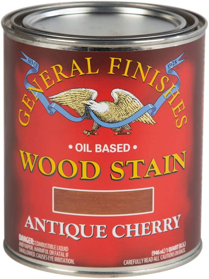 General Finishes Oil Easy-to-use Based Penetrating Stain Limited time trial price Wood Quart 1 Anti