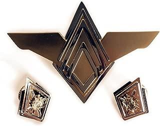 Battlestar Galactica Deluxe Senior Officer Rank Pin Set