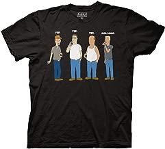 Ripple Junction King of The Hill Yep Yep Yep Mm Hmm Adult T-Shirt