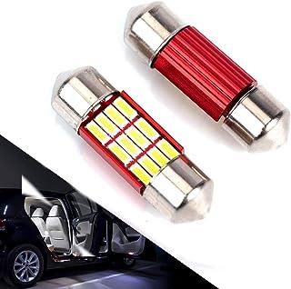 DE3175 LED Bulb For Car 4Pcs 12SMD 4014 Chipset Canbus Error Free Led Bulbs 31mm 1.22'' Festoon Led Bulbs DE3022 DE3021 DE...
