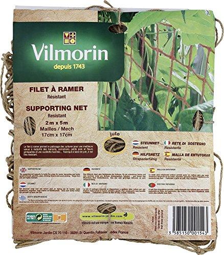 Vilmorin vh00088Silagenetz, Rudern Strick 17x 17cm 200g/m² 2x 5m