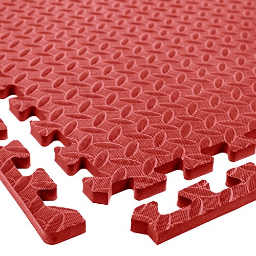 Incstores Diamond Soft Extra Thick Anti Fatigue Interlocking Foam Tiles