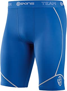 SKINS Men's DNAmic Compression Team Half 1/2 Tights Capri Shorts