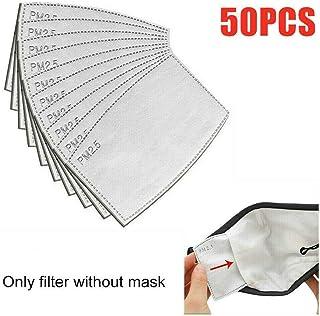 20/50 Unidades PM2.5 - Filtro de máscara Transpirable y