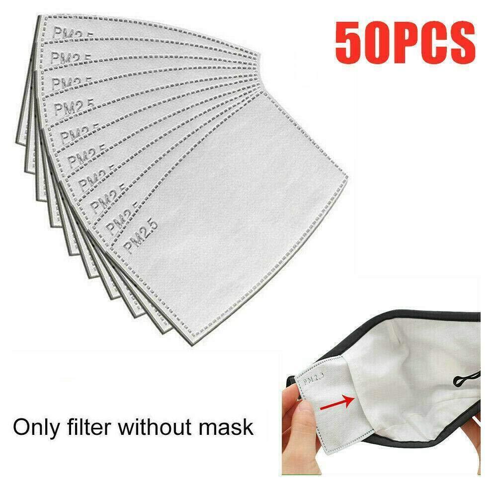 20/50 Unidades PM2.5 - Filtro de máscara Transpirable y ...
