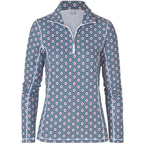 Bogner Fire + Ice Damen Polo T-Shirt Alexia, pink, 38, 8451-4615