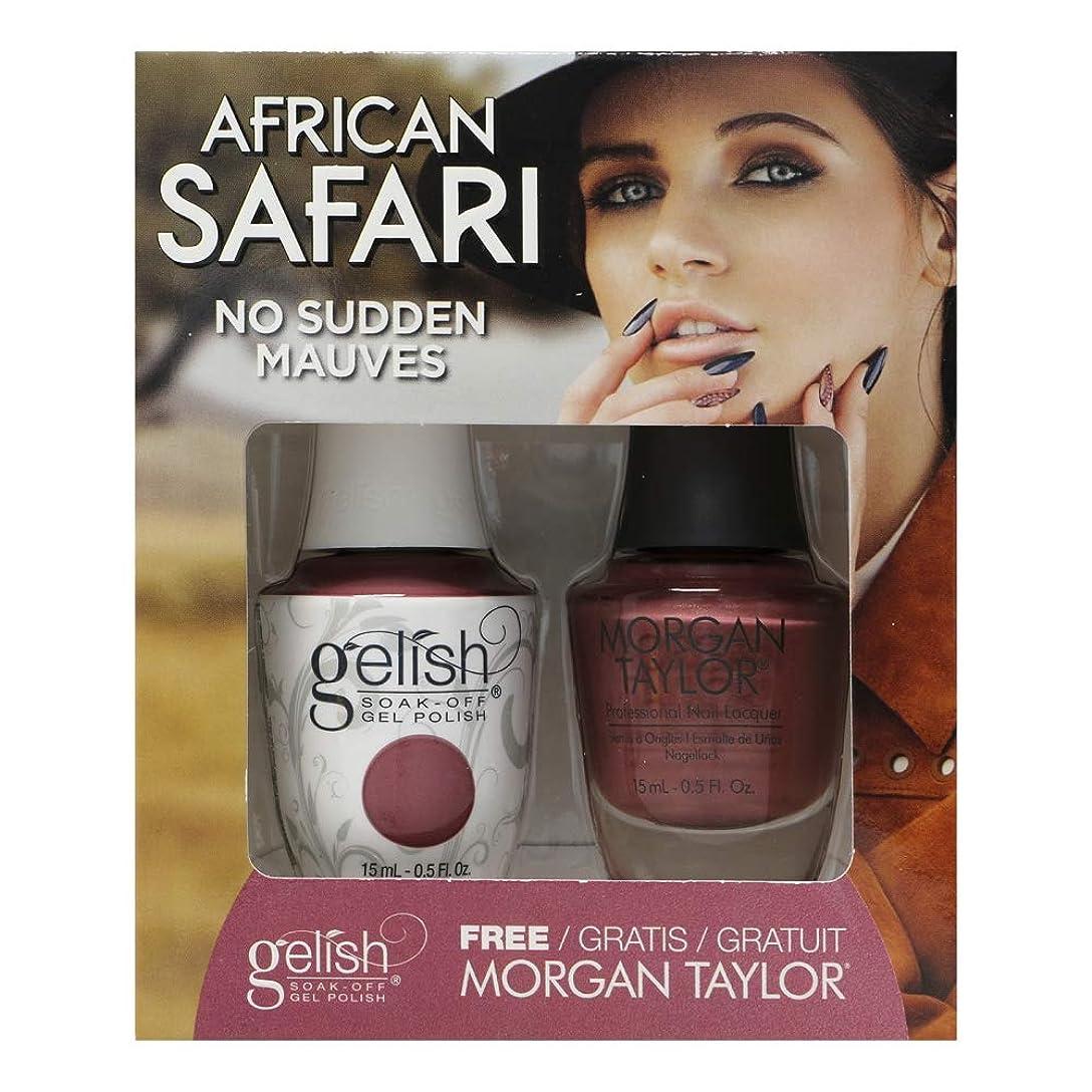 全く水注釈を付けるGelish - Two of a Kind - African Safari Collection - No Sudden Mauves