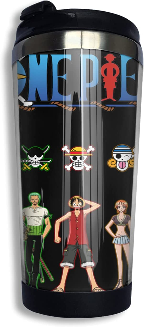 One Piece Anime Coffee Cup Funny Mug 3d Print Thermos All items free shipping 1 year warranty