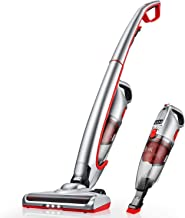 Cordless Vacuum, 4 in 1 Stick Vacuum Cleaner Lightweight & Ultra-Quiet Handheld Vacuum for Car Pet Hair Carpet Hard Floor,...